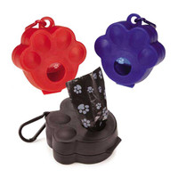 Pawprint Pet Waste Bag Holders