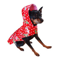 Scarlet Dog Raincoat