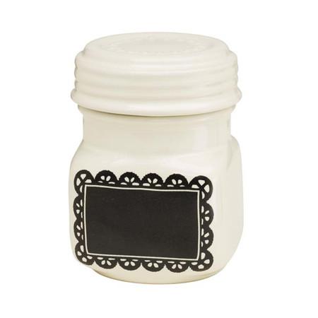 Chalk-a-Doodle Ceramic Mini Jar