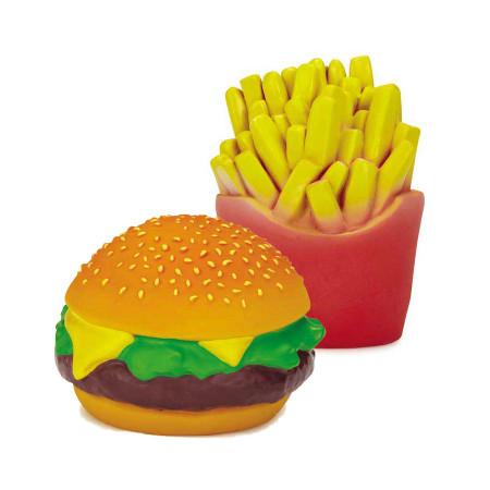 Fast Foodies Latex Squeak Toys