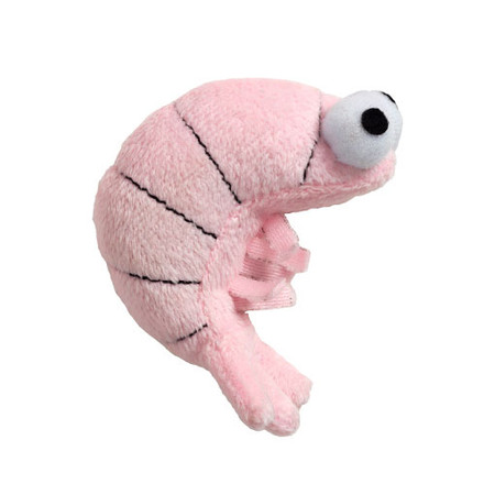 Shrimp Catnip Toy