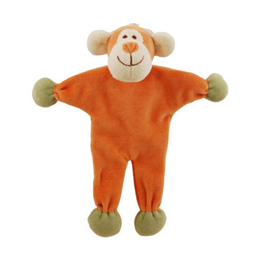 Stuffless Oscar Monkey Organic Dog Toy