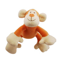 Petite Oscar Monkey Organic Dog Toy