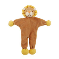 Stuffless Leo Lion Organic Dog Toy