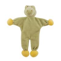 Stuffless Gary Alligator Organic Dog Toy