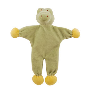 Stuffless Gary Alligator Organic Dog Toy