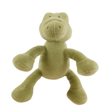 Simply Fido Petite Gary Alligator Organic Dog Toy