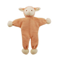 Stuffless Lolly Lamb Organic Dog Toy