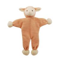 Stuffless Lolly Lamb Organic Dog Toy