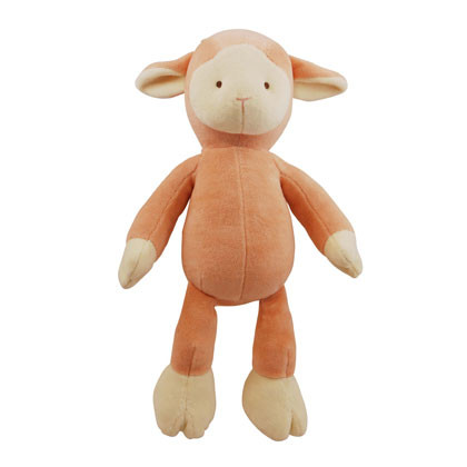 Large Lolly Lamb Organic Dog Toy
