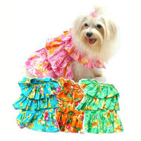 Hawaiian Muu Muu Dog Dress