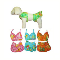 Hawaiian Dog Bikini