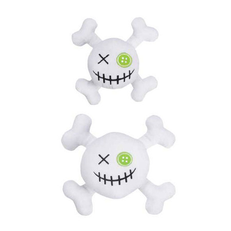 Witching Hour Skulls Dog Toys