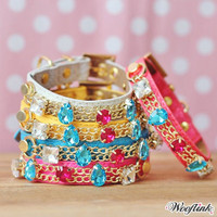 Wooflink Shine On Collar & Leash Set