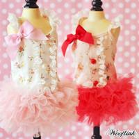Wooflink Flower Garden Dress