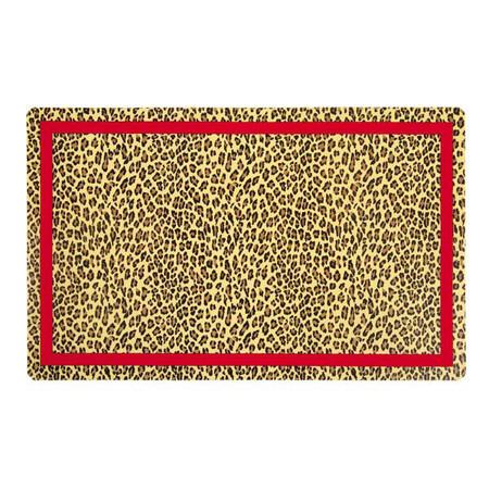 M. Isaac Mizrahi Leopard Placemat