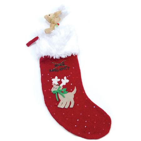 Oscar Newman Naughty or Nice Christmas Stocking & Toy Set