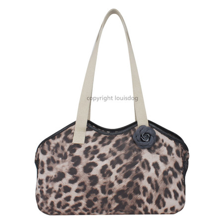 Louisdog Leopard Shoulder Bag Carrier