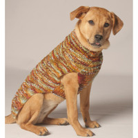 Harvest Cable Knit Dog Sweater
