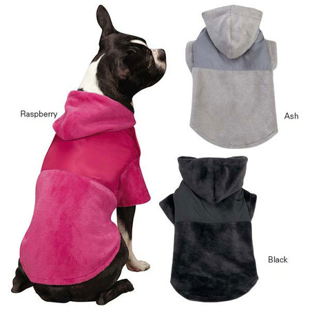 Glacier Plush Cuddler Dog Jacket