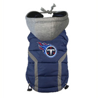 Tennessee Titans Dog Puffer Vest