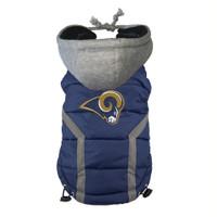 St. Louis Rams Dog Puffer Vest