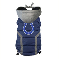 Indianapolis Colts Dog Puffer Vest