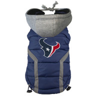 Houston Texans Dog Puffer Vest