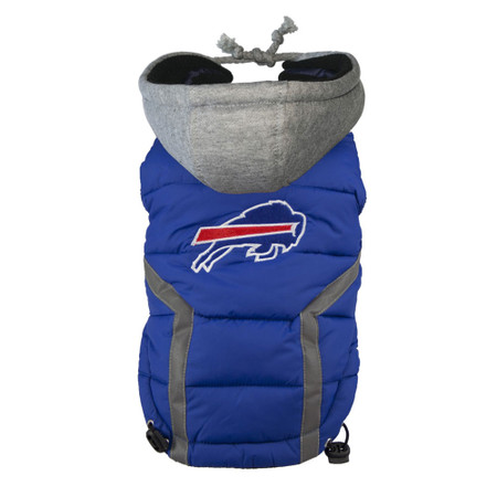 Buffalo Bills Dog Puffer Vest
