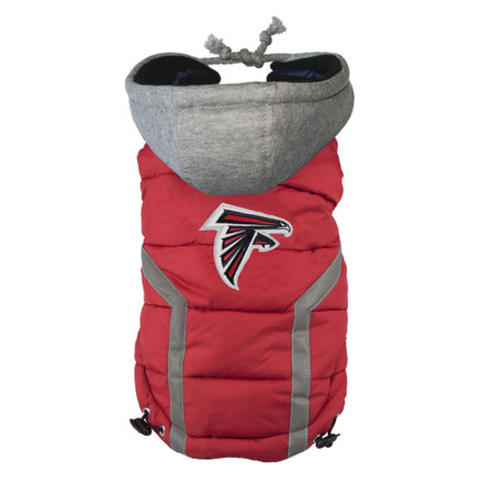 Atlanta Falcons Dog Puffer Vest