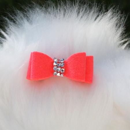 Susan Lanci Crystal Rocks Hair Bow