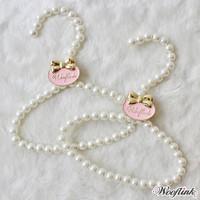 Wooflink In My Closet Pearl Hangers