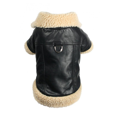 Classic Shearling Leatherette Coat
