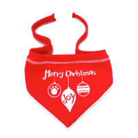 Merry Christmas Ornament Scarf
