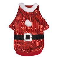 Santa Claus Sequin Hoodie