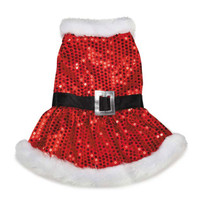 Mrs. Claus Sequin Dress