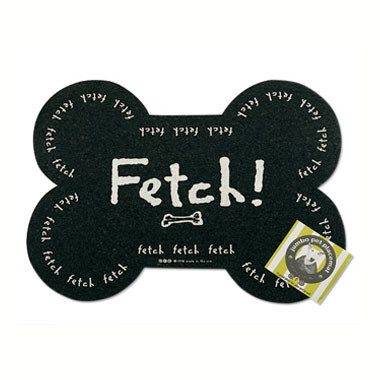 Jumbo Recycled Rubber Fetch! Placemat
