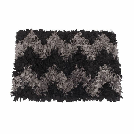 Dogs of Glamour Chevron Jersey Rug