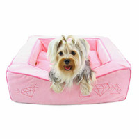 Dogs of Glamour Dream of Diamonds Bed