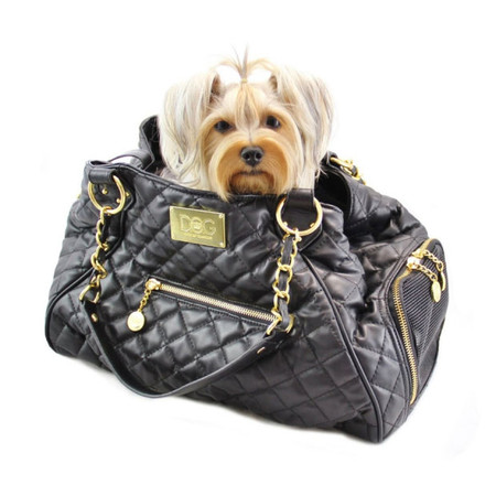 Dogs of Glamour Classic Tote - Quilted