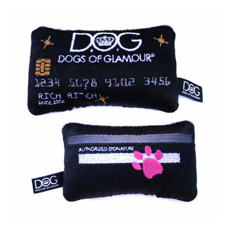 Dogs of Glamour Glam Credit Card Toy