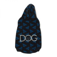 Dogs of Glamour Diamond Repeat Hoodie