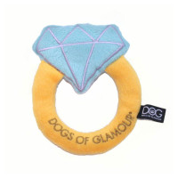 Dogs of Glamour Diamond Ring Toy