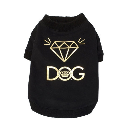 Dogs of Glamour Bling Diamond Tee