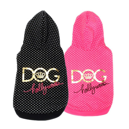 Dogs of Glamour Hollywood Hoodie