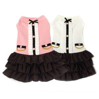 Dogs of Glamour Coco Ruffle Dress