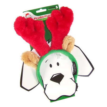Plush Holiday Antlers