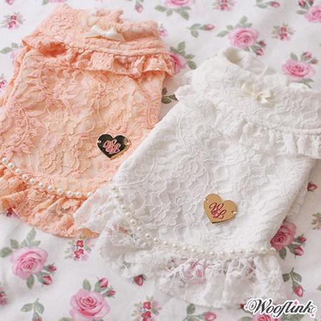 Wooflink Floral Lace Coat
