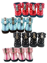 Polka Dot Hiker Boots