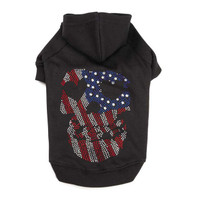 America's Pup Skull Hoodie